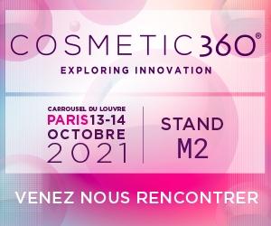 Salon Cosmetic 360 – Paris – Octobre 2021